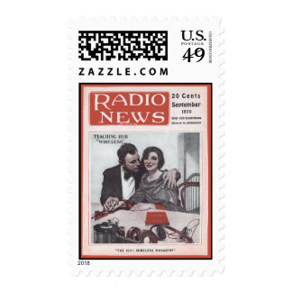 Enseñanza de su radio sellos
