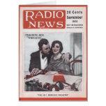 Enseñanza de su radio tarjeta de felicitación