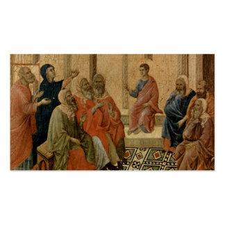 Enseñanza joven de Jesús en el templo Tarjetas De Visita