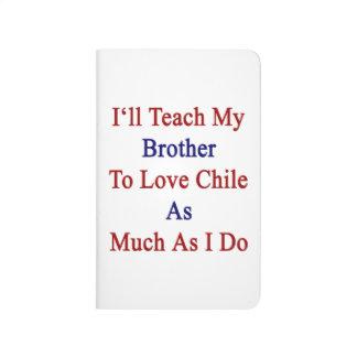 Enseñaré a mi Brother para amar Chile tanto como I