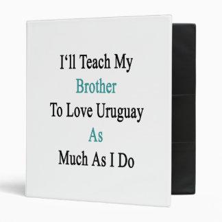 Enseñaré a mi Brother para amar Uruguay tanto como