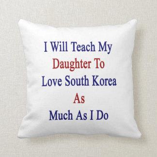 Enseñaré a mi hija a amar Corea del Sur como MU Cojin