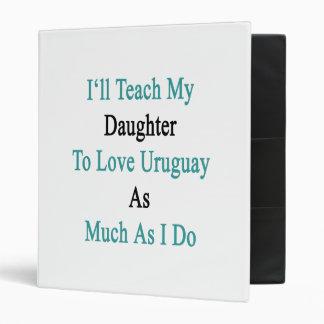 Enseñaré a mi hija a amar Uruguay tanto como