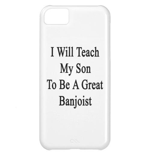 Enseñaré a mi hijo a ser gran Banjoist