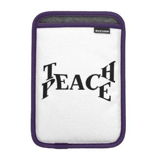 Enseñe a la paz fundas para iPad mini