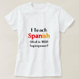 Enseñe al español polera