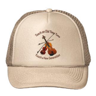Enseñe al gorra de antaño del tono