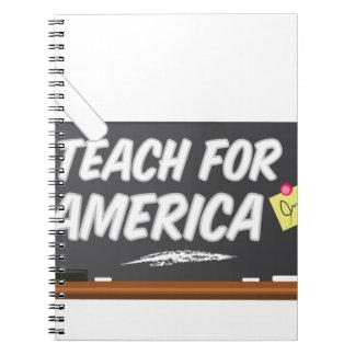 Enseñe para América Note Book