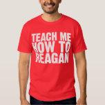 Enséñeme a cómo a la camisa de Reagan