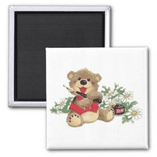 Enséñeme a escribir el oso trasnparent iman