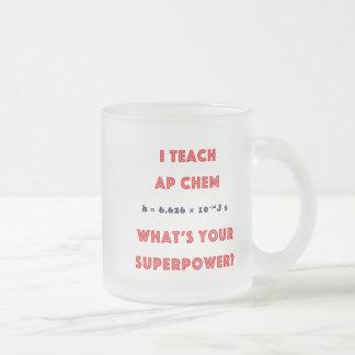 ¿Enseño a AP Chem cuál es su superpotencia? Tazas