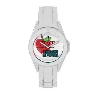 Enseño a cuál es su superpoder relojes de pulsera