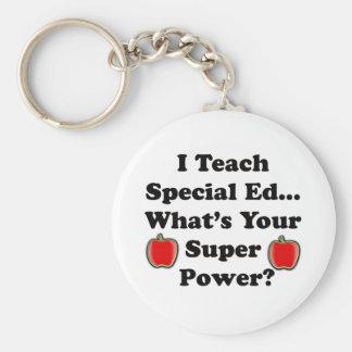 Enseño a Ed. especial Llavero Personalizado