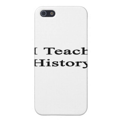 Enseño a historia iPhone 5 cárcasas