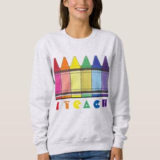 Enseño a la camiseta del profesor de arte de los