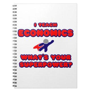 Enseño a la economía. ¿Cuál es su superpotencia? Libreta