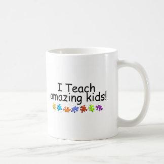Enseño a los niños asombrosos (los PP) Tazas De Café
