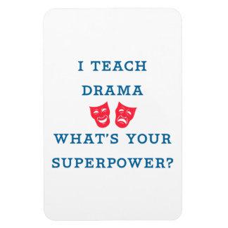 ¿Enseño drama a cuál es su superpotencia? Imán Flexible