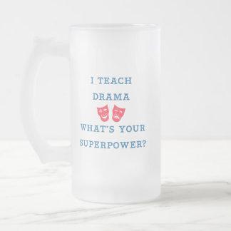 ¿Enseño drama a cuál es su superpotencia? Taza De Cristal