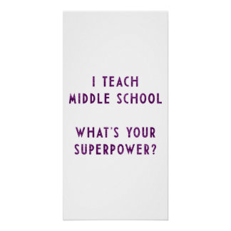 ¿Enseño escuela secundaria a cuál es su superpoten