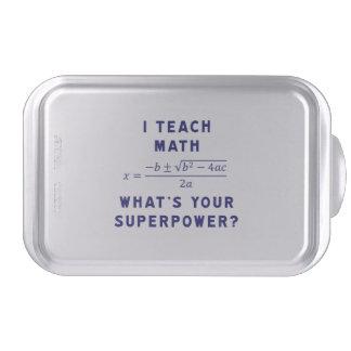 ¿Enseño matemáticas a cuál es su superpotencia? Molde Para Pasteles