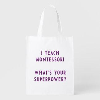 ¿Enseño Montessori a cuál es su superpotencia? Bolsas Para La Compra
