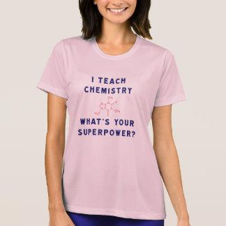 ¿Enseño química a cuál es su superpotencia? Playeras