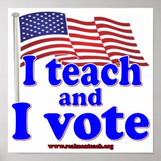 Enseño y voto impresiones