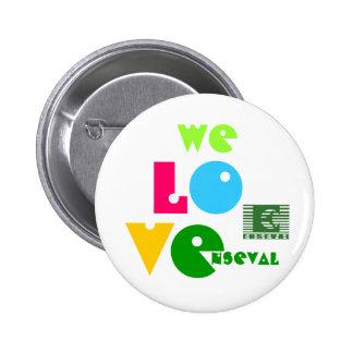 enseval logo, WE, L, O, V, E, nseval Pins