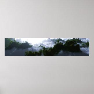 Enshrouded Panorama Poster