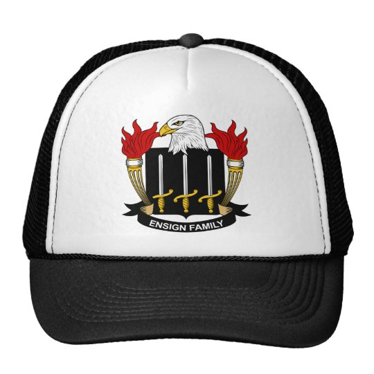 Ensign Family Crest Trucker Hat