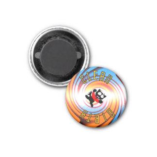 Ensign Fraidy Clean Dirty Vortex Dishwasher Magnet