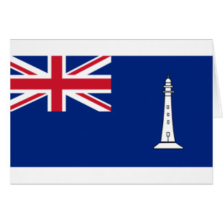 Ensign the British Commissioners Northern Lighthou Card
