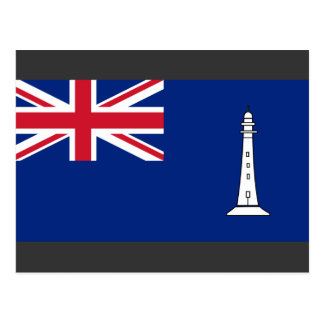 Ensign the British Commissioners Northern Lighthou Postcard