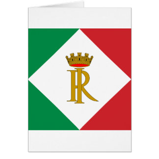 Ensign the former presidents Italy, Italy Greeting Card