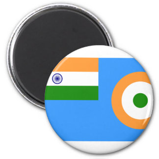 Ensign the Indian Air Force, India 2 Inch Round Magnet