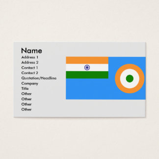 Ensign the Indian Air Force, India Business Card