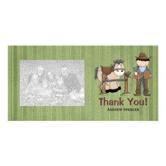 Ensille para arriba le agradecen las tarjetas de l tarjeta personal