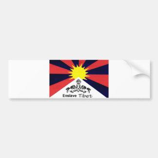 Enslave Tibet Bumper Stickers