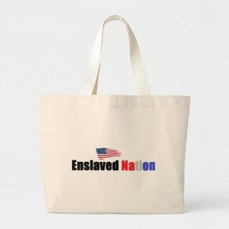 Enslaved Nation Tote Bags