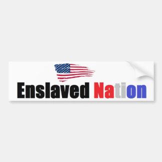 Enslaved Nation Bumper Sticker