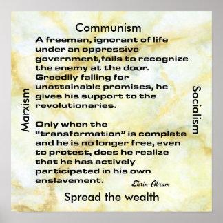 Enslavement Poster