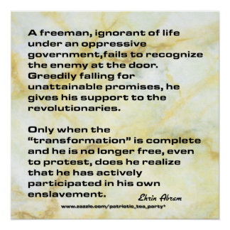 Enslavement Posters
