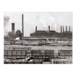 Ensley Iron Works, 1906 Postcard
