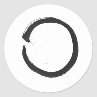 Enso 2 classic round sticker
