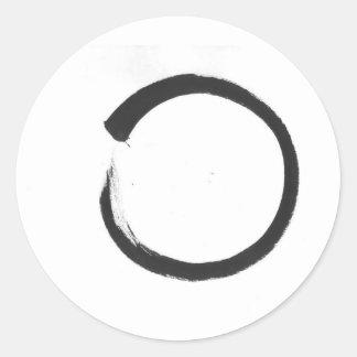 Enso 3 classic round sticker