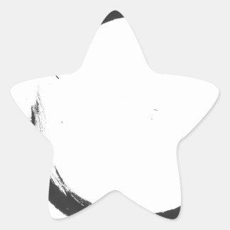 Enso 3 pegatina en forma de estrella