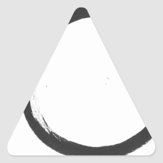 Enso 3 pegatina triangular