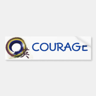 Enso - Aperature of Courage Bumper Stickers