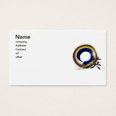 Enso, Aperature Of Courage Business Card at Zazzle